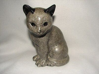 Enesco 1984 Cat Figurine Made in Taiwan ~ Very Nice Collectible Cat