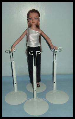 3 Doll Stands for ELLOWYNE WILDE Antoinette Prudence