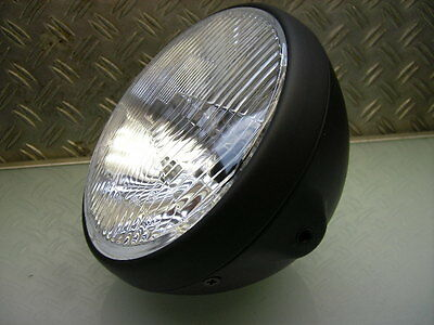 Cafe Racer Scheinwerfer Old School Head Light Lamp Brat Style Xs 400 Xj 650 750