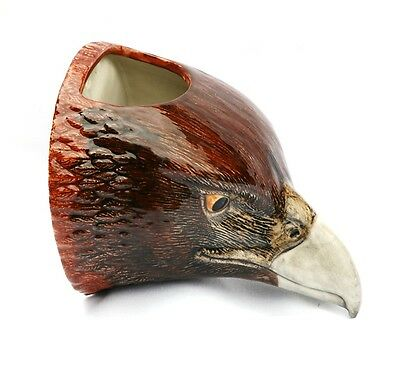 Eagle Hawk Hanging Wall Vase Pot By Quail Pottery Bird Of Prey Gift Present