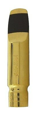 Otto Link Tenor Saxophone Mouthpiece Gold Plated #6 .090 New