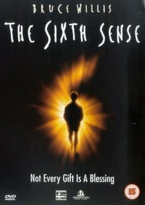 The Sixth Sense DVD (2000) Bruce Willis, Shyamalan (DIR) cert 15 Amazing Value