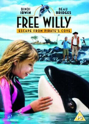 Free Willy: Escape from Pirate's Cove DVD (2010) Beau Bridges, Geiger (DIR)