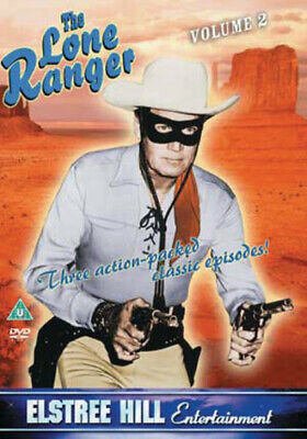 The Lone Ranger: Volume 2 DVD (2004) Clayton Moore cert U FREE Shipping, Save £s
