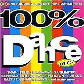 Various Artists : 100% Dance Hits CD