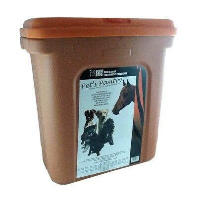 Dry Pet Food Storage Container Dog Cat Horse Feed 28kg Bird Seed 47kg NEW