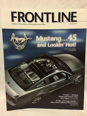 2008 Ford Frontline Magazine 1964 2008 Mustang 45th Anniversary Brochure