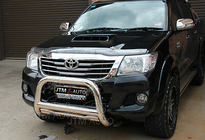 """TOYOTA Hilux Nudge Bar 3"""" Stainless Steel Grille Guard 2006-2015"""