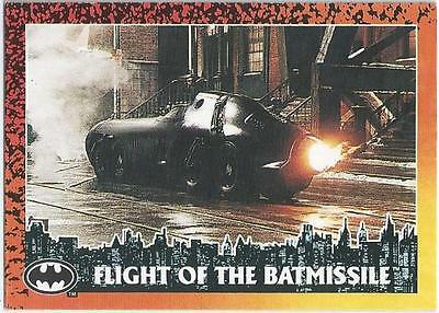 Batman Returns - Card 57 - Flight Of The Batmissile