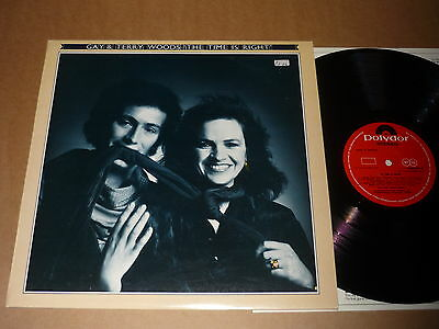 """Gay & Terry Woods """"The Time Is Right"""" 1976 Polydor Records LP"""