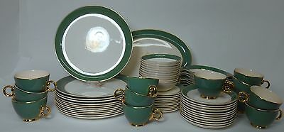 TAYLOR SMITH TAYLOR china GOLDEN WHEAT 67-Piece Set Service for Eleven (11) +/-