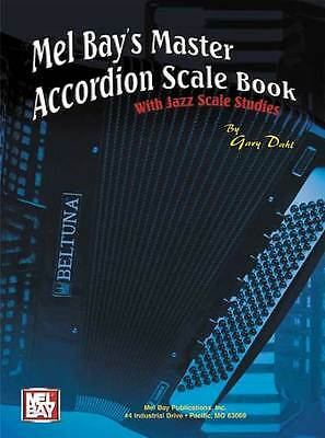 Master Accordion Scale Book With Jazz Scale Studies New