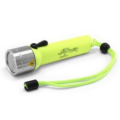 LED LENSER D14.2 Frogman 400 lumen 60m Dive Torch High Visibility Yellow