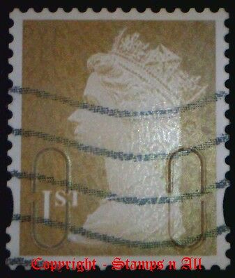 1st Class Gold Security MACHIN Used Choose your stamp DISCOUNTS UP TO 60% AVAIL