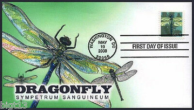 DRAGONFLY First Day Of Issue Cover