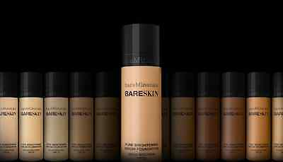 NEW  bareMinerals BARESKIN Pure Brightening Serum Foundation 30ml ALL SHADES