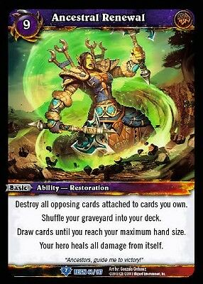 COUNTERATTACK X 4 WORLD OF WARCRAFT WOW TCG REIGN OF FIRE
