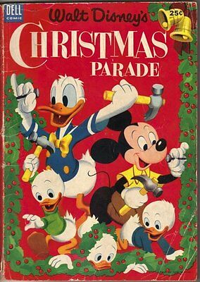 Walt Disney's Christmas Parade Comic Book #5, Dell 1953 VERY GOOD