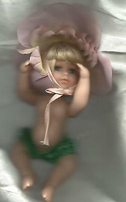 Porcelain Angel Doll Birthstone Pearl Just Too Adorable For Words