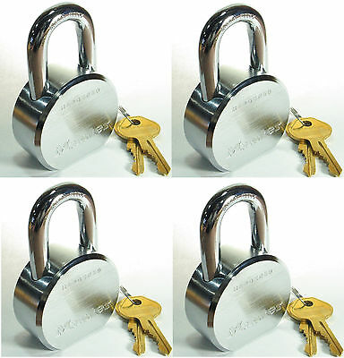 Lock Set by Master 6230KA (Lot of 4) KEYED ALIKE Solid Steel Extreme Security