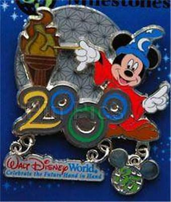 SORCERER MICKEY 35 MAGIC MILESTONE 2000 MILLENNIUM Celebration LE WDW DISNEY PIN