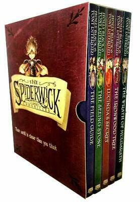 Spiderwick Chronicle Collection Holly Black 5 Books Set Field Guide Brand New PB