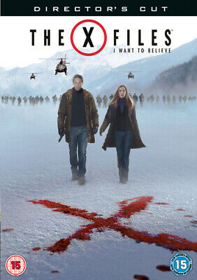 The X Files Movie: I Want to Believe (Director's Cut) DVD (2008) David Duchovny