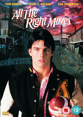All the Right Moves DVD (2003) Tom Cruise, Chapman (DIR) cert 15 Amazing Value