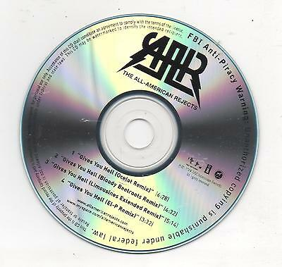 All American Rejects Gives You Hell Limited Edition Remixes 2008 Promo CD
