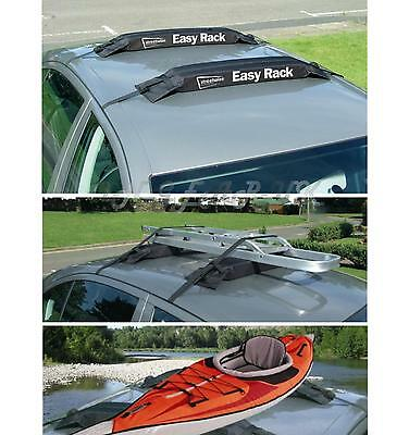 Easy fit four door car Roof removeable rack bar ideal  canoe Conoeing kayak etc