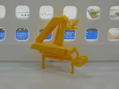 Herpa Promotex Telescopic Log Crane Yellow 1/87