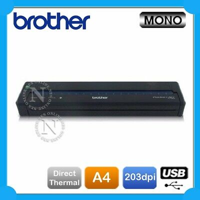Brother PJ-622 Thermal Portable Printer Bundle Pack w/PA-C-411 Thermal paper