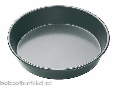 Master Class Heavy Duty 9 Inch 23cm Professional Non Stick Deep Pan Pie Dish Tin