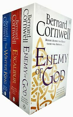 Bernard Cornwell The Warlord Chronicles Collection 3 Books Set Excalibur New(The