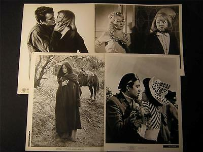 Sarah Miles VINTAGE 8 Assorted PHOTO LOT 952W
