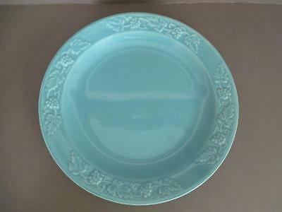 "Santa Anita Ware Medium Green 12"" Platter with Grape Vine Pattern  kk3"