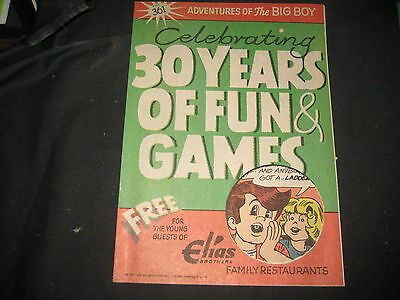 Elias Brothers Big Boy, Celebrating 30 Years of Fun and Games Comic Book  eb02