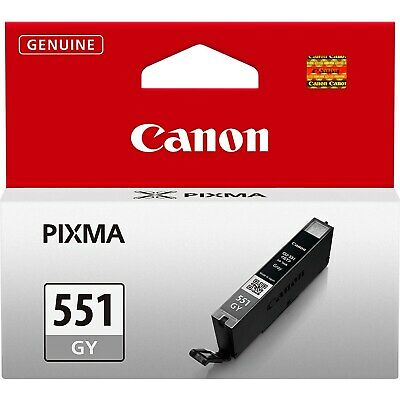 Canon CLI-551 (Grey) Ink Cartridge (Yield 780 Pages)