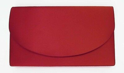 NEW Red Ladies Satin Handbag Purse Evening Bag Wedding Formal Bridal #6420