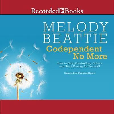 Codependent No More by Melody Beattie (English) Compact Disc Book Free Shipping!