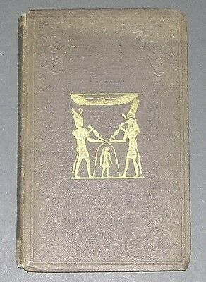Illustrations of Bible from Monuments of Egypt by W C Taylor Illustr'd 1838 Book