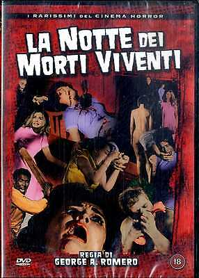 LA NOTTE DEI MORTI VIVENTI di George Romero DVD FILM SEALED