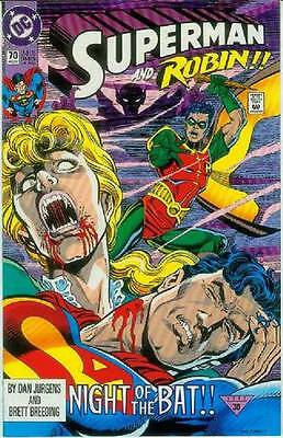 Superman (2nd series) # 70 (guest: Robin) (USA, 1992)