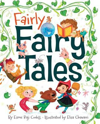 Fairly Fairy Tales by Esme Raji Codell (English) Hardcover Book Free Shipping!