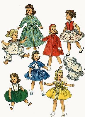 Vintage Doll Clothes PATTERN 1779 for 18 in Sweet Sue by American Character