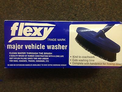 Listaflex  Lorry Canvas  Brush-Stiff Nylon Bristles- Professional-New 951N/Ft9Sh