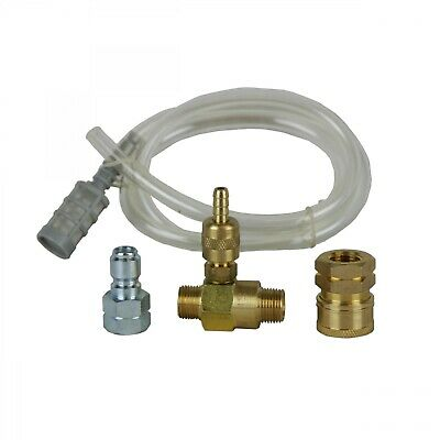 BE Pressure 85.400.000 Soap Injector 3/8in QD FCoupler 3/8in FPlug w/CW Filter