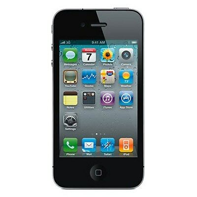 Apple iPhone 4 8GB WiFi Verizon Wireless Black Smartphone