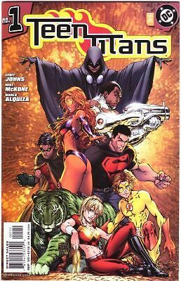 Teen Titans #1 Geoff Johns Turner variant cover FREE UK POST