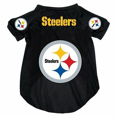 NEW PITTSBURGH STEELERS PET DOG MESH FOOTBALL JERSEY ALL SIZES ALTERNATE STYLE